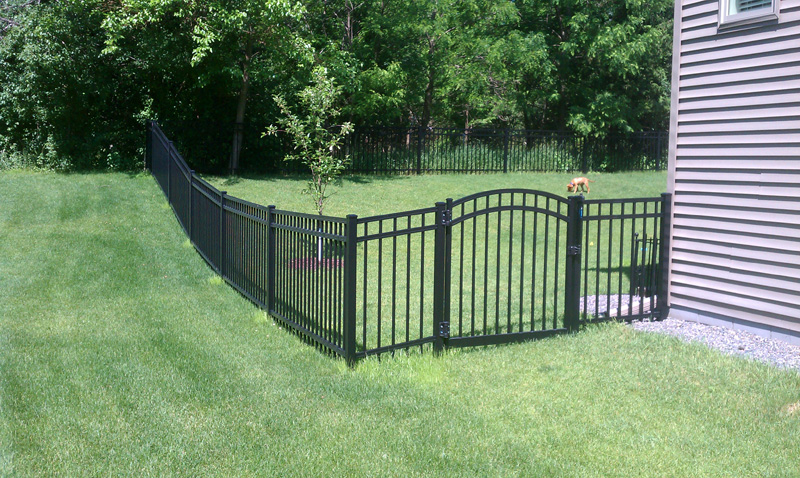 Ornamental Fence Install Ham Lake MN