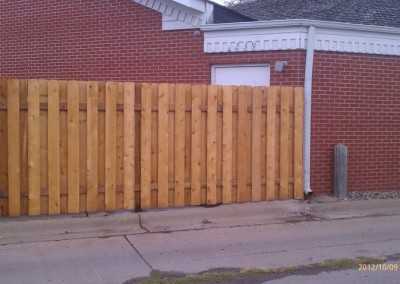 Alternate Board Fence