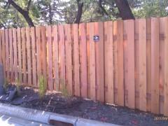 Alternate Board Fence