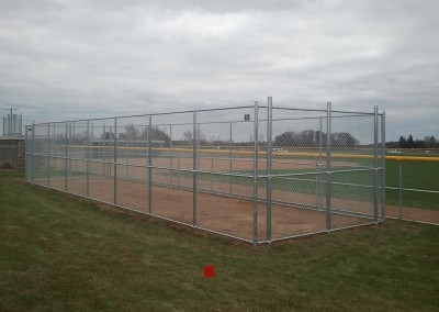 Chain Link Fence for Batting Cage
