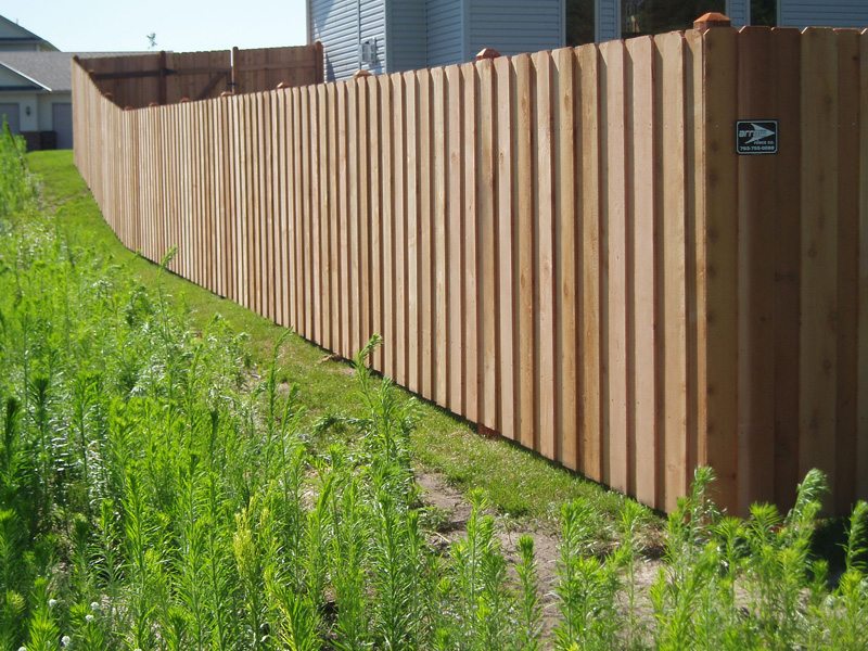 Cedar Privacy Fence Photo Gallery Fence Installation MN Fenc