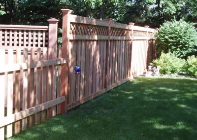 Cedar Fence Combo