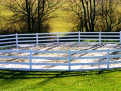 Corral Vinyl Ranch Fence