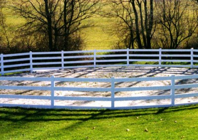 Corral Vinyl Ranch Fence