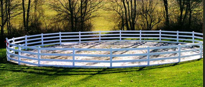 Andover MN Vinyl Fencing