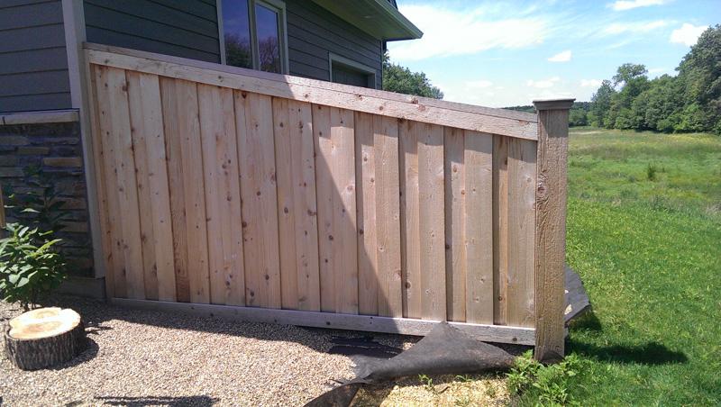 Cedar Privacy Fence Photo Gallery Fence Installation Mn