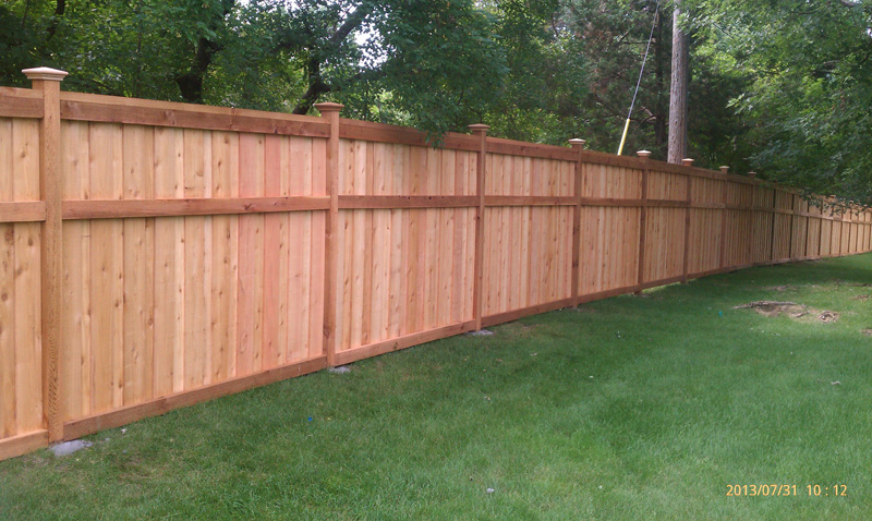 Wood Privacy Fence Blaine MN