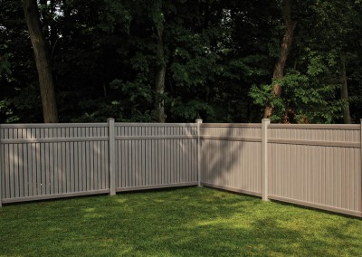 Imperial Timber Blend Vinyl Privacy Fence