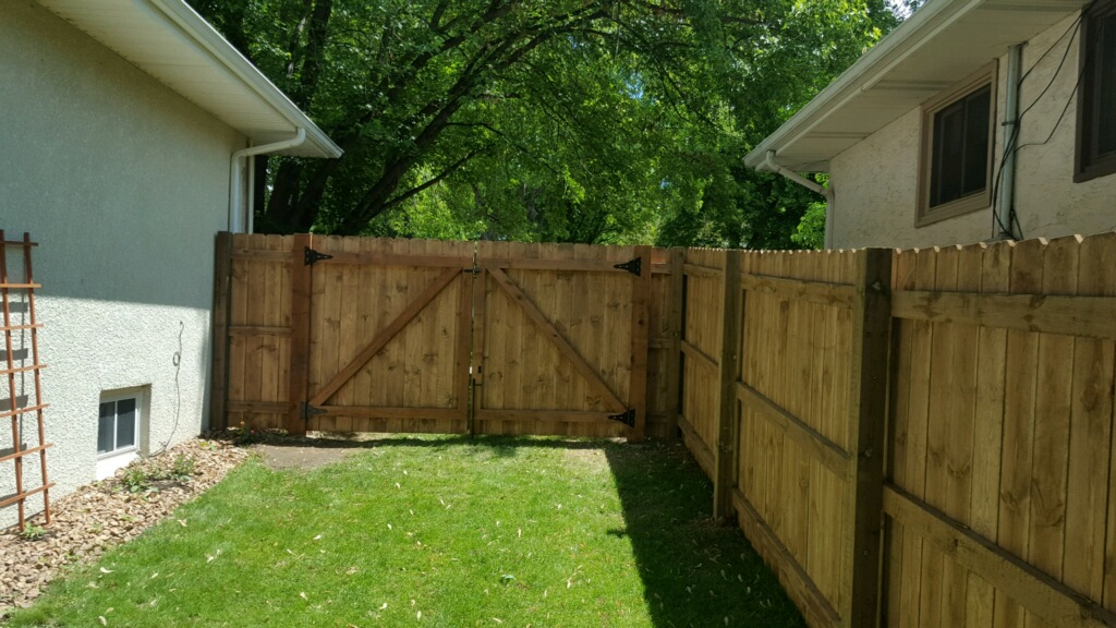 Privacy Fence in Blaine