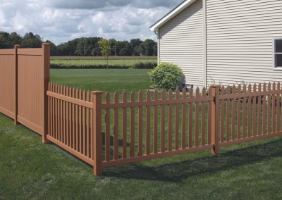 Privacy Fence / Picket Fence Combo