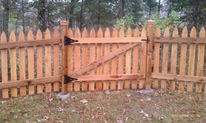 Ramsey Fence Install