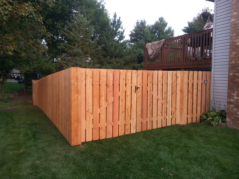 Cedar Privacy Fence Photo Gallery Fence Installation Mn