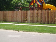 Alternating Gothic Picket Fence