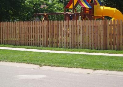 Alternating Gothic Picket Fence
