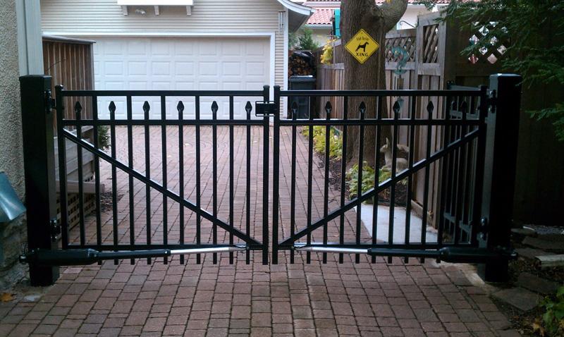 Blaine Ornamental Fence Install