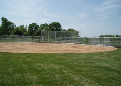 Chain Link Fence for Baseball Field