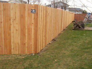 Wood Privacy Fence Anoka MN