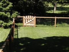 California Style Cedar Walk Gate