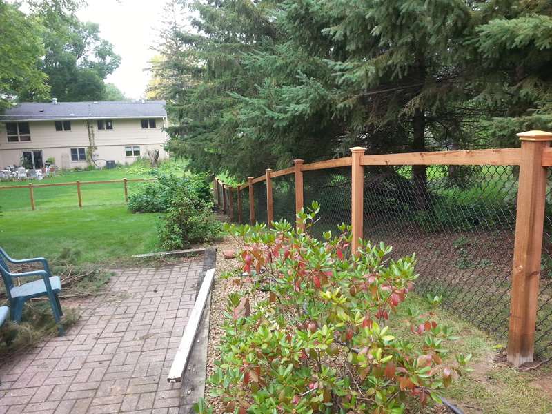 California Style Chain Link Fence Photo Gallery on Property Lines And Fences