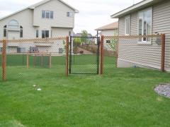 California Style w/ Steel Frame Gate