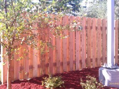 Alternate Board Cedar Fence
