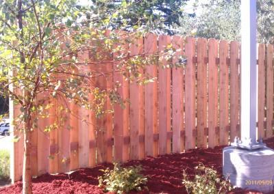 Alternate Board Cedar Fence