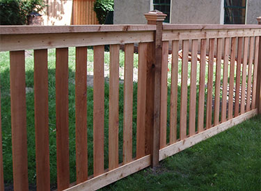 Decorative Cedar Fence Installers MN