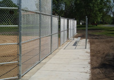Chain Link Fence for Commercial Baseline