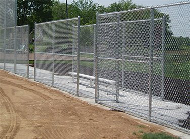 Light Commercial Fence Installation Service in MN