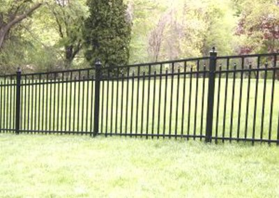 Ornamental Enclosed Spear Fence