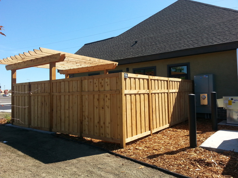 Cedar Privacy Fence Brooklyn Park MN