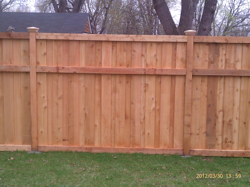 Wood Fence Installation Mn Cedar Fence Installers