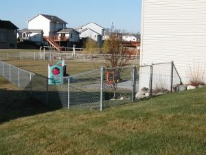 Blaine MN Chain Link Fence Install