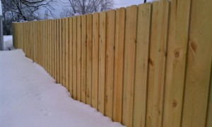 Wood Privacy Fence Blaine Minnesota