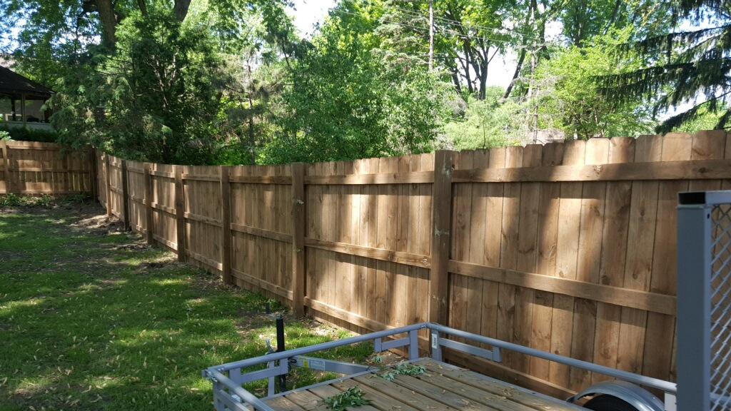 Blaine Cedar Wood Fence