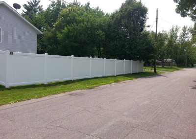 Lexington Vinyl Privacy Fence