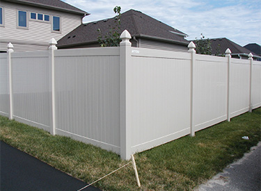 Maintenance Free Vinyl Privacy Fence