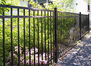 Aluminum Ornamental Fence Installation MN