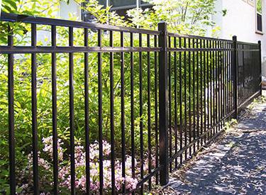Aluminum Ornamental Fence Installation MN