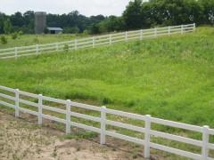 Vinyl Ranch Style Fencing