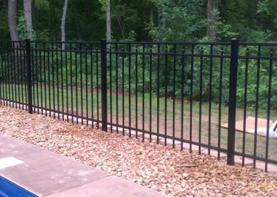 Residential Ornamental Aluminum Fence