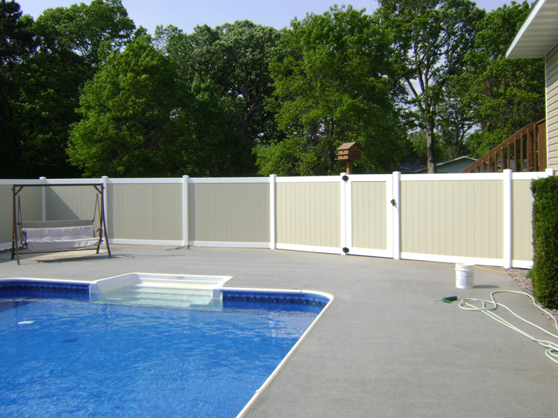 Vinyl Fence Contractor Lino Lakes Minnesota