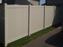 Vinyl Tongue and Groove Fence