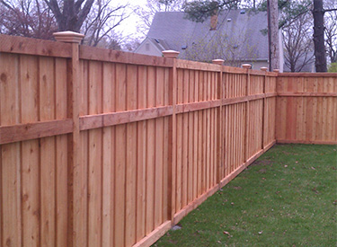 Wood Cedar Privacy Fence Installers MN